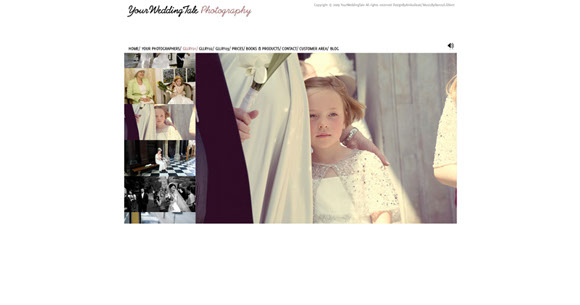 Gallery Page for Your Wedding Tale Photography